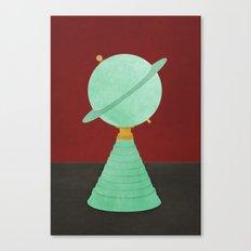 Saturn Lamp Twin Peaks Canvas Print