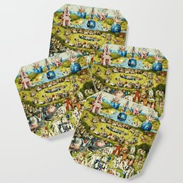 Hieronymus Bosch - The Garden Of Earthly Delights Coaster