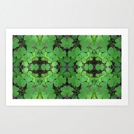 Luck (pattern) Art Print
