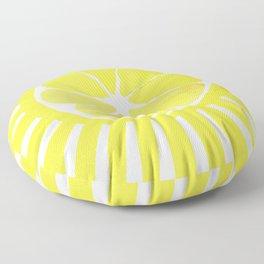 Citrus sun Floor Pillow