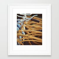 industrial Framed Art Prints featuring Industrial by Alicia Bock