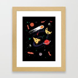 High Calorie Way Framed Art Print