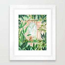 Jungle Swing Framed Art Print