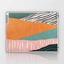 Modern irregular Stripes 02 Laptop & iPad Skin