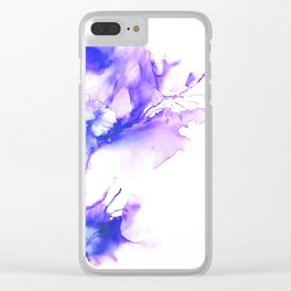 Butterfly Dreams - Abstract Clear iPhone Case