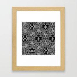 Imperial Pattern Framed Art Print