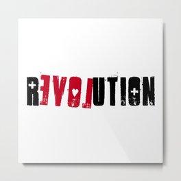 Relovution Metal Print