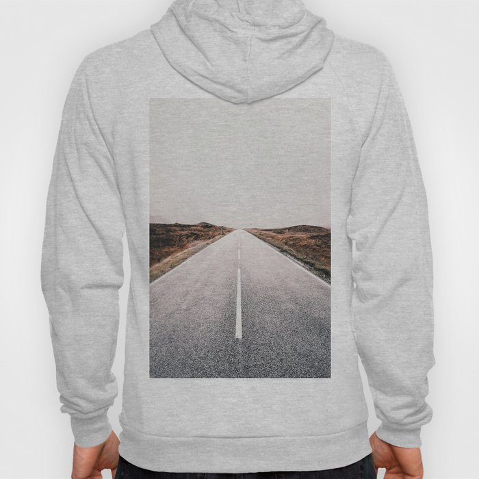 ROAD - HIGH WAY - LANDSCAPE - PHOTOGRAPHY - NATURE - ADVENTURE - SKY Hoody