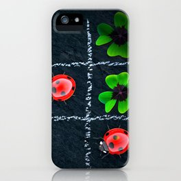 Clover_002_by_JAMFoto iPhone Case