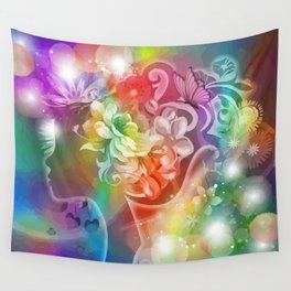 Rosalinde das Blumenmädchen Wall Tapestry
