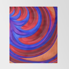 Beautiful Abstract Art by Raphael Terra Throw Blanket