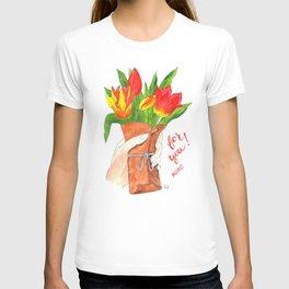 Handful of Tulips T-shirt