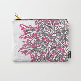 Black Growth with Pink Carry-All Pouch