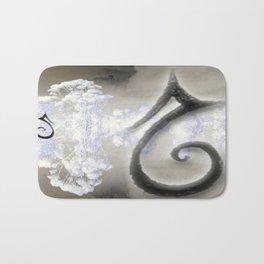 Swan in Love Bath Mat