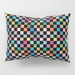 Multicolour Squares Checkerboard Pillow Sham
