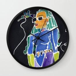 Hummingbird Bitch Wall Clock