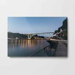 Arrabida bridge (II) Metal Print