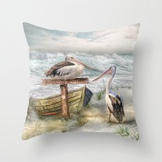 Pelican Point Throw Pillow