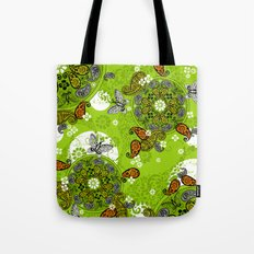 butterfly carousel Tote Bag