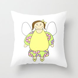 For My Angel Throw Pillow