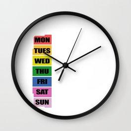Gay agenda Gay Or Lesbian Gift Wall Clock