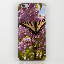 Catching Butterflies iPhone Skin