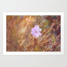 Lilac Charm Art Print