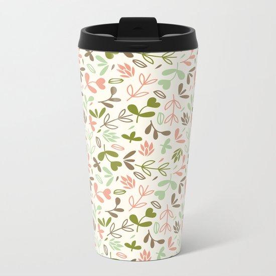 Colorful Lovely Pattern XIV Metal Travel Mug