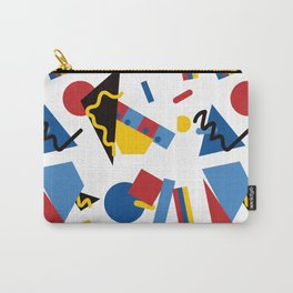 Postmodern Primary Color Party Decorations Carry-All Pouch