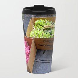 At The Florist's Before Opening Travel Mug