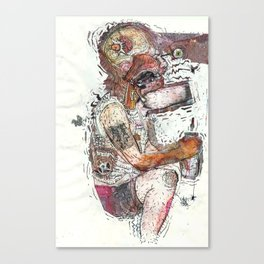 Knock Out Canvas Print