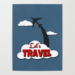 Let's travel Poster