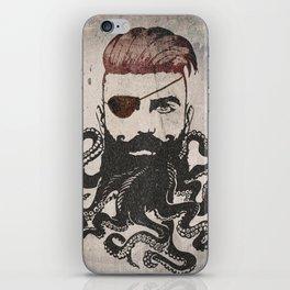 Black Beard iPhone Skin