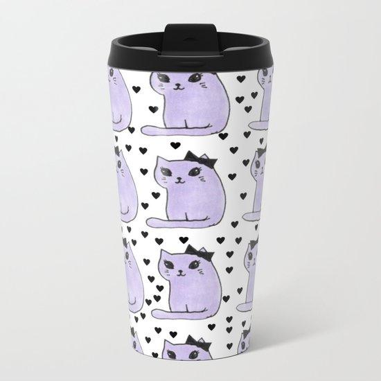 cats-420 Metal Travel Mug