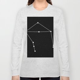 LIBRA (BLACK & WHITE) Long Sleeve T-shirt