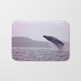Breaching Humpback Bath Mat