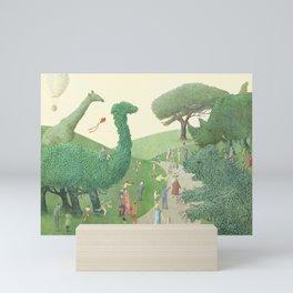 The Night Gardener - Summer Park Mini Art Print