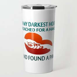 FOUND A PAW Travel Mug