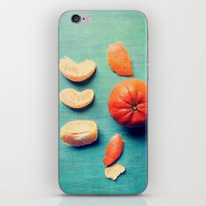 Orange Wedge iPhone Skin