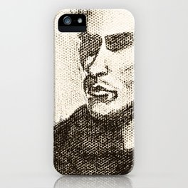 Mr Shady by D. Porter iPhone Case
