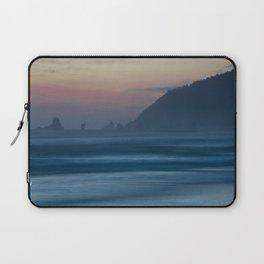 Cannon Beach at Dusk Laptop Sleeve