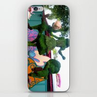 outdoor iPhone & iPod Skins featuring Outdoor Tea Party by Ashleigh E. Myers