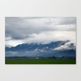 The Kamnik Alps after a storm Canvas Print