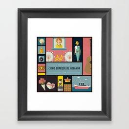 """""""Chico Buarque de Holanda"""" -  Chico Buarque Framed Art Print"""