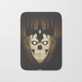 Crowned Skull Bath Mat