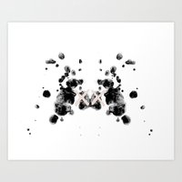 the xx Art Prints featuring XX by Andrea Eedes