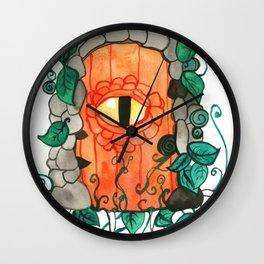 Dragon Door Wall Clock