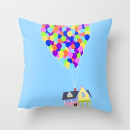UP!  Throw Pillow