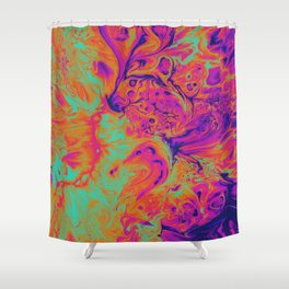 The Phoenix Shower Curtain