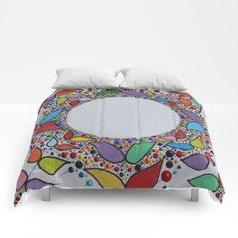 Summer Flowers Comforters